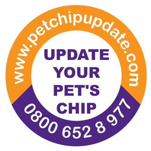 The pet Chip Update Campaign