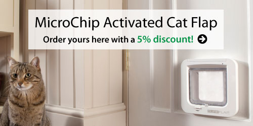 MicroChip Activated Cat Flap from SureFlap
